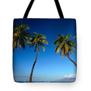 Lahaina, Five Coconut Tre Tote Bag