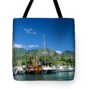 Lahaina Harbor - Maui Tote Bag