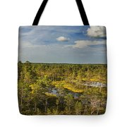 Lahemaa Panorama From Above Tote Bag