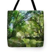 Lahinja River Tote Bag