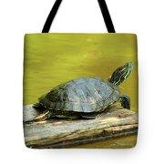 Laidback Turtle Tote Bag