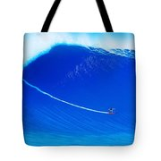 Jaws Cliff Angle 1-10-2004 Tote Bag