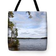 Lake 395 Tote Bag