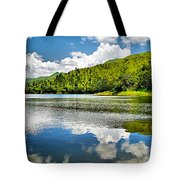 Lake Agua Blanca Tote Bag