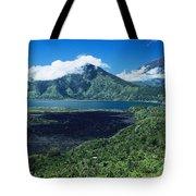 Lake Batur Tote Bag