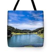 Lake Berressa Under Bridge Tote Bag