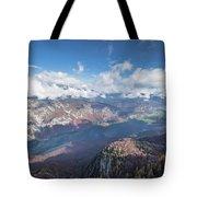Lake Bohinj From Mount Vogel Tote Bag
