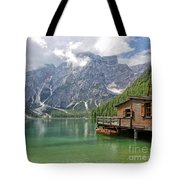 Lake Braies Tote Bag
