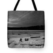 Lake Bw Tote Bag