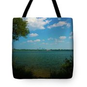 Lake Calhoun 3796 Tote Bag