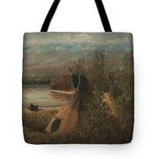 Lake Camp Tote Bag
