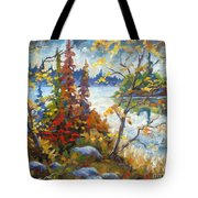Lake Cartier Tote Bag