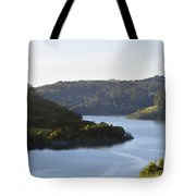 Lake Chabot On A Sunny Day Tote Bag