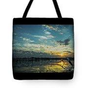 Lake Champlain Vermont Sunrise - 2 Landscape Tote Bag