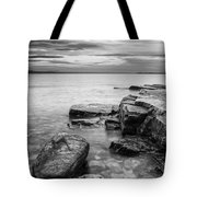 Lake Champlain-vermont-sunrise-storm Tote Bag