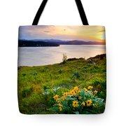 Lake Coeur D'alene Spring Tote Bag