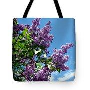 Lake Country Lilacs Tote Bag