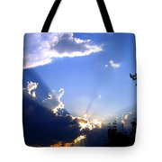 Lake Country Sunburst Tote Bag