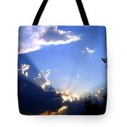 Lake Country Sunburst Tote Bag