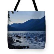 Lake Crescent Tote Bag