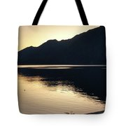 Lake Cresent At Dusk Tote Bag