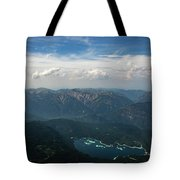 Lake Eibsee Tote Bag