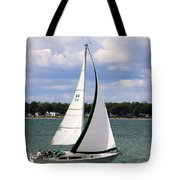 Lake Erie Sailing 8092 Tote Bag