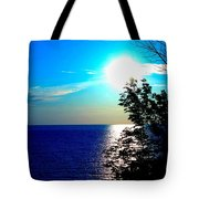 Lake Front Tote Bag