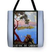 Lake Garda 1920s French Tote Bag
