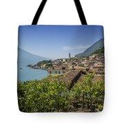 Lake Garda Limone Sul Garda Tote Bag