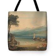 Lake Geneva And Mount Blanc Tote Bag