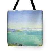 Lake Geneva From The Caux Tote Bag