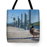 Lake George Duck Tote Bag