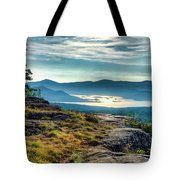 Lake George From Cat Mountain 1 Tote Bag