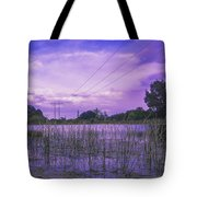 Lake Grass Tote Bag