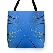 Lake Grass Reflection Tote Bag