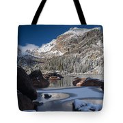 Lake Haiyaha  Tote Bag
