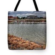 Lake Hefner Dock Tote Bag