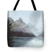 Lake Helevorn Tote Bag