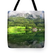 Lake Hintersee Tote Bag