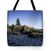 Lake Huron Shoreline Cedarville Michigan Tote Bag