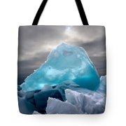 Lake Ice Berg Tote Bag