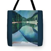 Lake In Austria Tote Bag