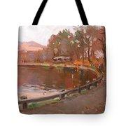 Lake In Bear Mountin Tote Bag
