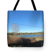 Lake In Lakeside Tote Bag