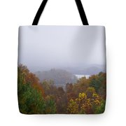 Lake In The Distance Tote Bag