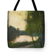 Lake In The Evening Tote Bag