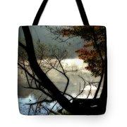Lake In Wood Tote Bag