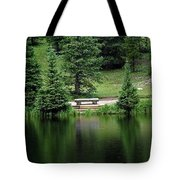 Lake Irene Dressed In Green Tote Bag