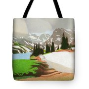 Lake Isabelle Storm Tote Bag
